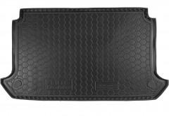Коврик в багажник для Fiat Doblo Panorama '01-09, 5 мест, короткая база с сеткой, резиновый (AVTO-Gumm)