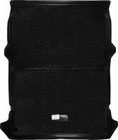 Коврик в багажник для Fiat Doblo Cargo '01-09, резино/пластиковый (NorPlast) черный