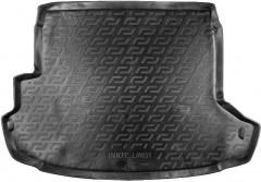 Коврик в багажник для Nissan X-Trail '08-15 (с органайзером), резино/пластиковый (Lada Locker)