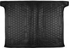 Коврик в багажник для Fiat Doblo '10-, 5 мест, короткая база, резиновый (AVTO-Gumm)