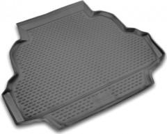 Коврик в багажник для Geely FC '06-, полиуретановый (Novline / Element) черный