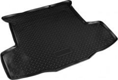 Коврик в багажник для Fiat Linea '07-15, резино/пластиковый (NorPlast) черный