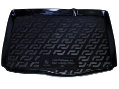 Коврик в багажник для Fiat Grande Punto '05-, резиновый (Lada Locker)