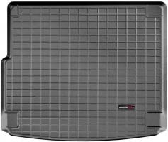Коврик в багажник для Porsche Cayenne '10-17 (с сабвуфером), резиновый (WeatherTech) черный