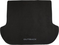 Коврик в багажник для Subaru Outback '09-14, текстильный черный
