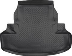 Коврик в багажник для Honda Accord 8 '08-13 седан, резино/пластиковый (NorPlast) черный
