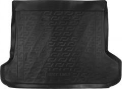 Коврик в багажник для Toyota LC Prado 150 '10-13 (5 мест) резино/пластиковый (Lada Locker)