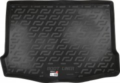 Коврик в багажник для Ford Focus 3 (III) '11- хетчбэк, резино/пластиковый (Lada Locker)