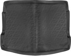 Коврик в багажник для Nissan Qashqai '06-14, резиновый (Lada Locker)