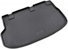 Коврик в багажник для Hyundai H-1 '07-, полиуретановый (Novline / Element) черный