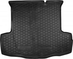 Коврик в багажник для Fiat Linea '07-15, резиновый (AVTO-Gumm)