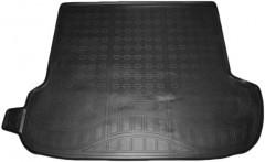 Коврик в багажник для Subaru Outback '15-, полиуретановый черный (Nor-Plast)