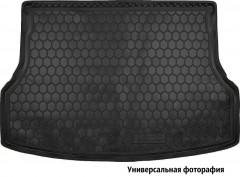 Коврик в багажник для Mitsubishi Grandis '03-11, короткий, резиновый (AVTO-Gumm)