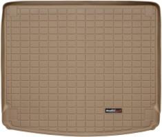 Коврик в багажник для Porsche Cayenne '10-17 (без сабвуфера), резиновый (WeatherTech) бежевый