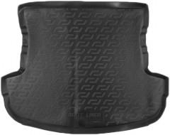 Коврик в багажник для Mitsubishi Outlander '12- (без органайзера), резиновый (Lada Locker)