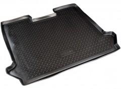 Коврик в багажник для Fiat Doblo Panorama '01-09, резино/пластиковый (Norplast)