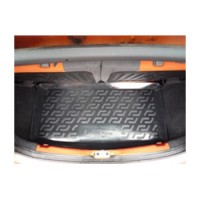 Коврик в багажник для Fiat Panda '03-12, резиновый (Lada Locker)