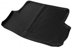 Коврик в багажник для Chevrolet Aveo '06-11 седан, резиновый (Lada Locker)