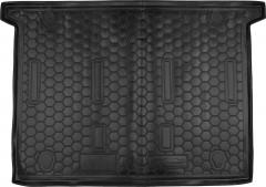 Коврик в багажник для Fiat Doblo '10-, 7 мест, короткая база, резиновый (AVTO-Gumm)