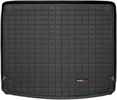 Коврик в багажник для Porsche Cayenne '10-17 (без сабвуфера), резиновый (WeatherTech) черный