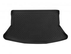 Коврик в багажник для Lada (Ваз) Калина (Ваз) 1119 '04-13, полиуретановый (NorPlast) черный