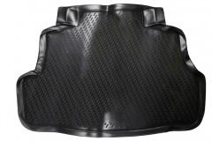 Коврик в багажник для Nissan Almera Classic '06-13, полиуретановый (Novline / Element) черный EXP.CARNIS00002