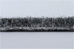 Фото 2 - Коврик в багажник для Skoda Rapid '13-, текстильный серый