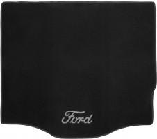 Коврик в багажник для Ford Focus 3 (III) '11- хетчбэк, текстильный черный