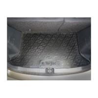 Коврик в багажник для Fiat Sedici '06-, резиновый (Lada Locker)
