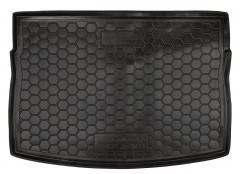 Коврик в багажник для Volkswagen Golf VII '12-, хетчбек, резиновый (AVTO-Gumm)