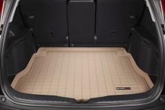 Коврик в багажник для Honda CR-V '06-12, резиновый (WeatherTech) бежевый