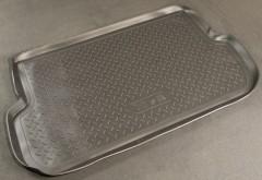 Коврик в багажник для Chery Jaggi (QQ6) '06-, полиуретановый (NorPlast) черный
