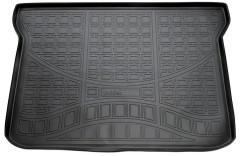 Коврик в багажник для Lifan X50 '15-, полиуретановый, черный (Nor-Plast)
