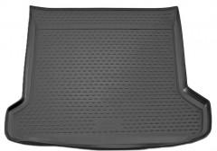 Коврик в багажник для Toyota LC Prado 150 '10-13 (5 мест), полиуретановый (Novline) черный