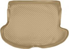 Коврик в багажник для Infiniti FX '03-08, полиуретановый (NorPlast) бежевый