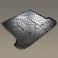 Коврик в багажник для Seat Ibiza '08-, полиуретановый (NorPlast) черный