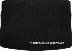 Коврик в багажник дляHyundai Sonata с 2015, текстильный черный