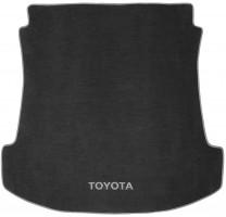 Коврик в багажник для Toyota Fortuner '05-14, текстильный серый