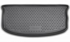 Коврик в багажник для Suzuki Splash '08-, полиуретановый (Novline / Element) черный