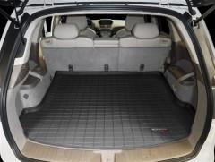 Коврик в багажник для Acura MDX '06-13, резиновый (WeatherTech) черный