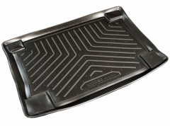 Коврик в багажник для Ford Focus I '99-04 хетчбэк, резино/пластиковый (Norplast)