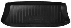 Коврик в багажник для Toyota RAV4 '01-06 (3 двери), резино/пластиковый (Lada Locker)