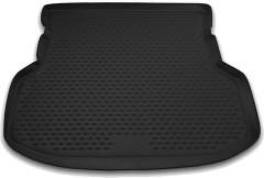 Коврик в багажник для Geely MK Sedan '06-14, полиуретановый (Novline / Element) черный
