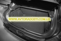 Коврик в багажник для Suzuki Swift '05-09 (верхний), полиуретановый (Novline / Element) черный