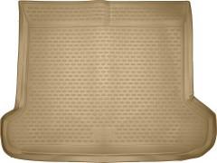 Фото 1 - Коврик в багажник для Toyota LC Prado 150 '10-13 (5 мест), полиуретановый (Novline / Element) бежевый