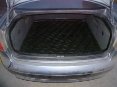 Фото 2 - Коврик в багажник для Audi A6 '97-05, седан, резино/пластиковый (Lada Locker)