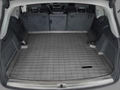 Коврик в багажник для Audi Q7 '05-14, резиновый (WeatherTech) черный
