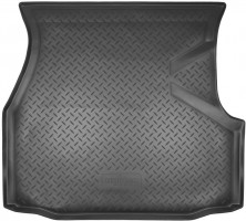 Коврик в багажник для Volkswagen Passat B3/B4 '88-96 универсал, резино/пластиковый (Norplast)