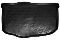 Коврик в багажник для Kia Soul '09-13 (нижний), резиновый (Lada Locker)