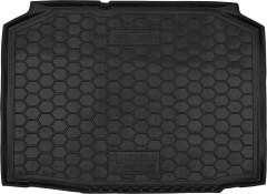 Коврик в багажник для Skoda Fabia '99-07 хетчбэк, резиновый (AVTO-Gumm)